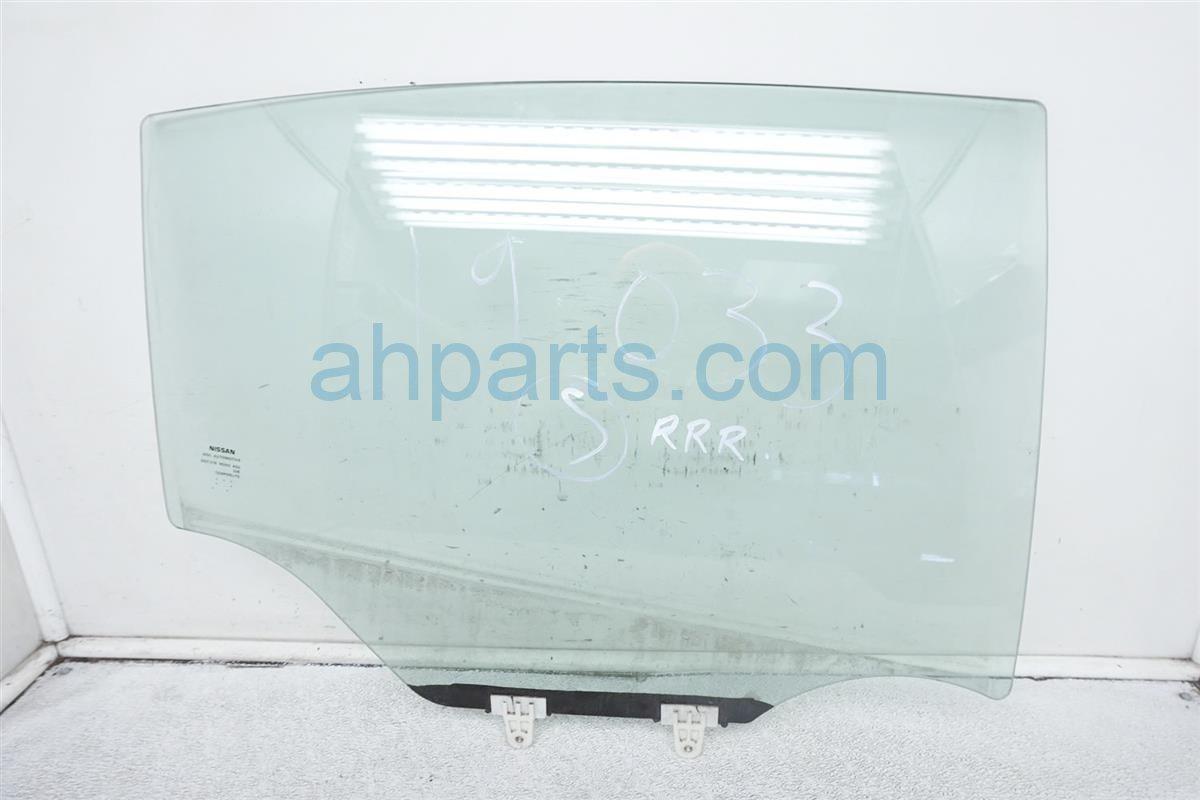 2007 Nissan Sentra 4dr Rear Passenger Door Glass Window 82300 ZE80A Replacement