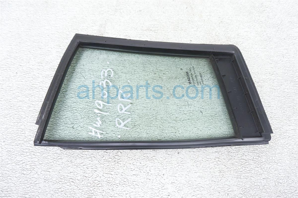 2007 Nissan Sentra Door / 4dr Rear Passenger Vent Glass Window 82262 ZE80A Replacement