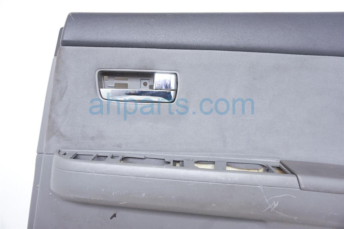 2007 Nissan Sentra Rear Passenger Door Panel Trim Liner Gray 82900 ET111 Replacement