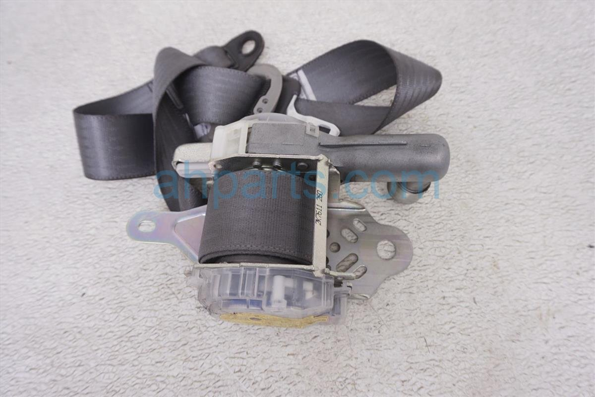 2007 Toyota Prius Front Passenger Seat Belt Gray 73210 47060 B0 Replacement