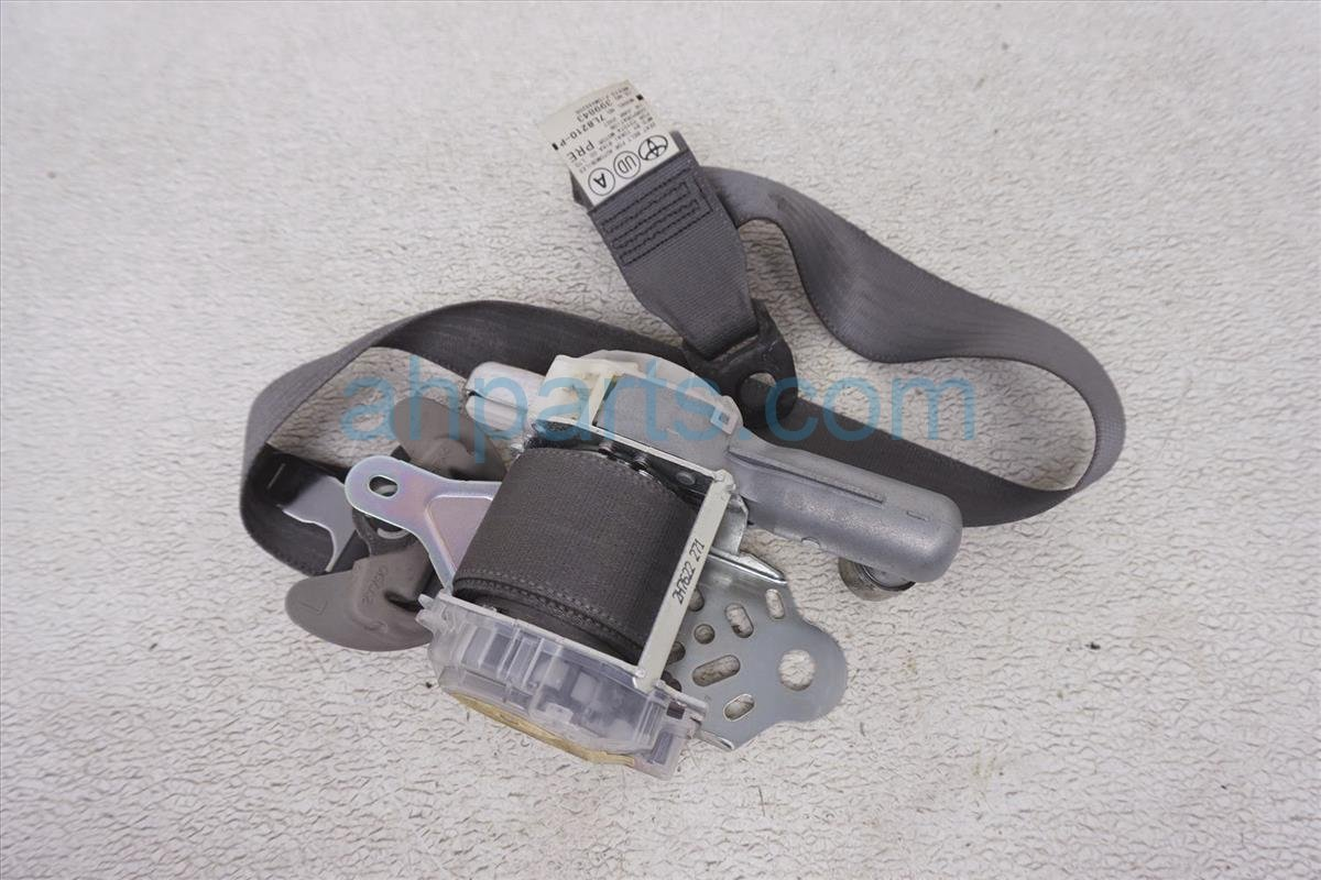 2007 Toyota Prius Front Driver Seat Belt Gray 73220 47051 B0 Replacement