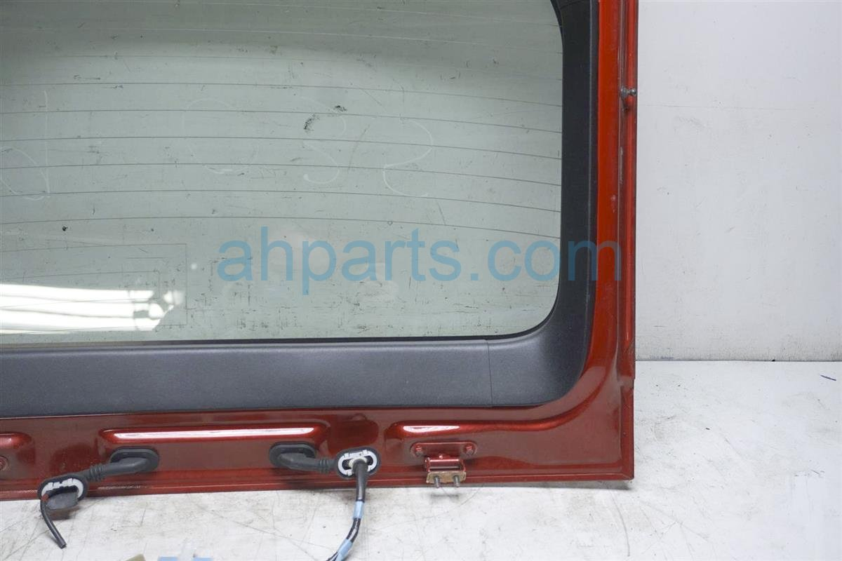 2007 Toyota Prius Deck Lid Rear Liftgate Door / Trunk Hatch Red 67005 47160 Replacement