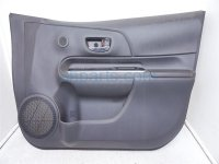 $160 Toyota FR/RH DOOR PANEL (TRIM LINER) BLACK