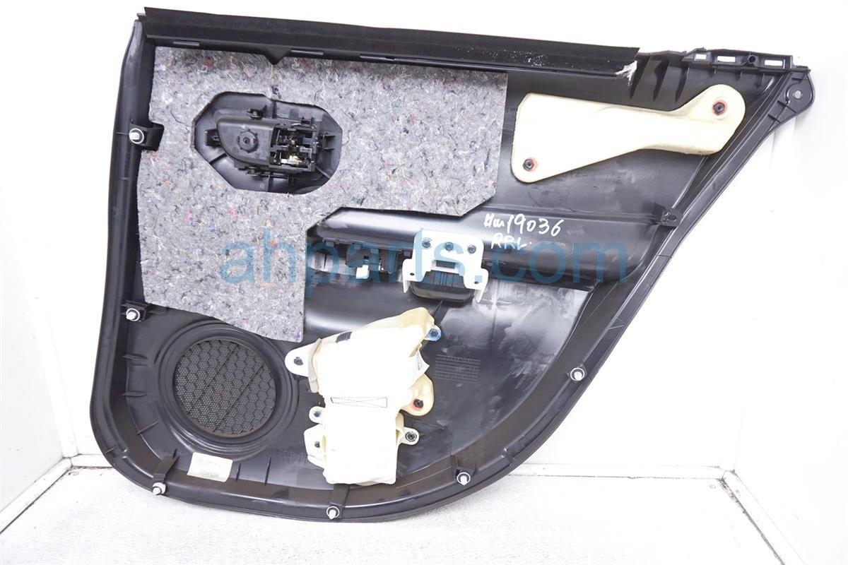 2016 Toyota Prius Trim / Liner Rear Driver Door Panel Black 67640 52V80 C0 Replacement