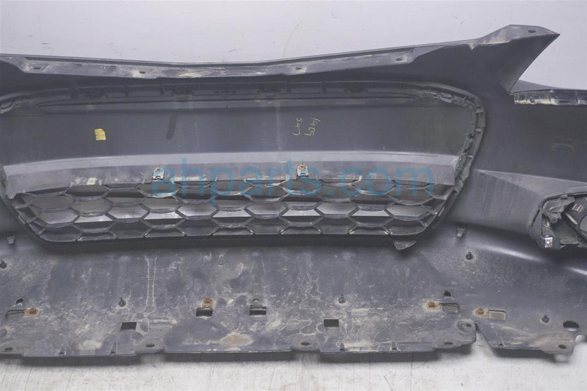 2012 Honda Civic Front Bumper Cover Black () 04711 TS8 A90ZZ Replacement