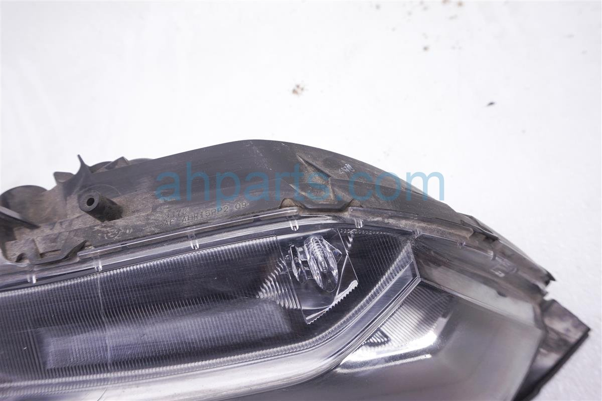2012 Honda Civic Headlight Right Head Light / Lamp 33100 TR0 A01 Replacement