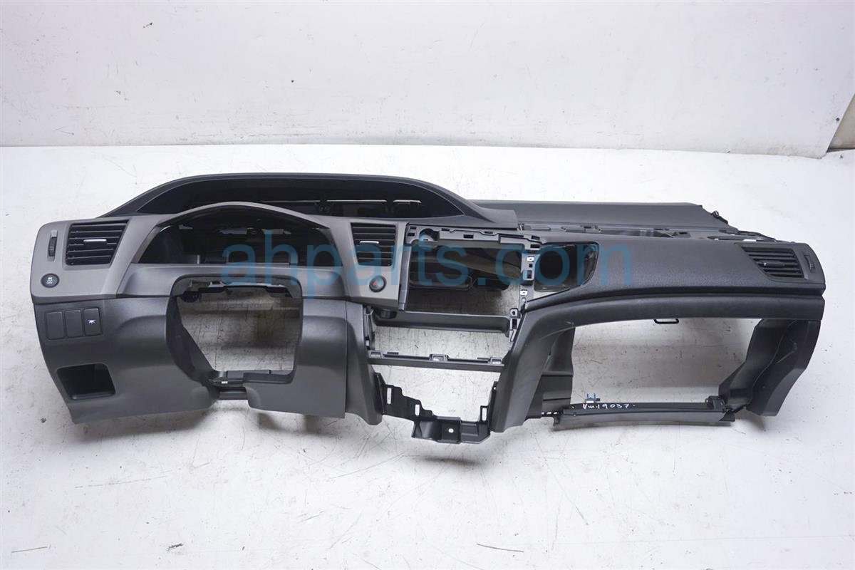 2012 Honda Civic Dashboard Black 77100 TR6 A00ZD Replacement