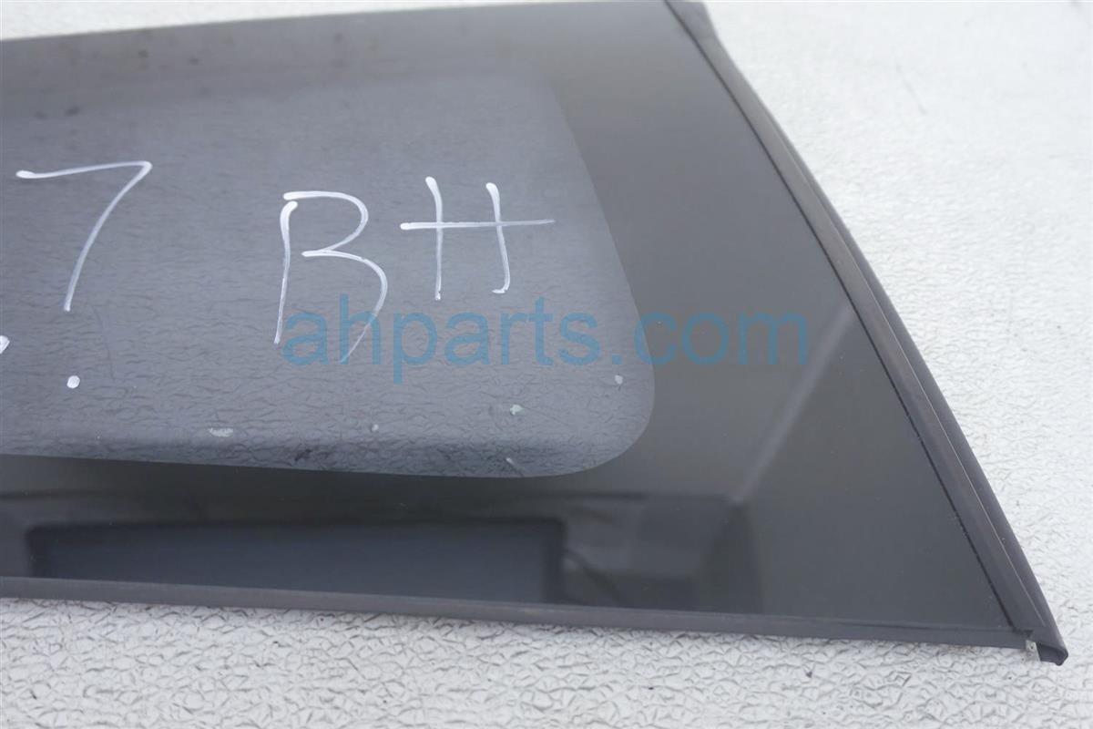 2012 Honda Civic Passenger Quarter Window Glass Tinted 73501 TS8 A01 Replacement