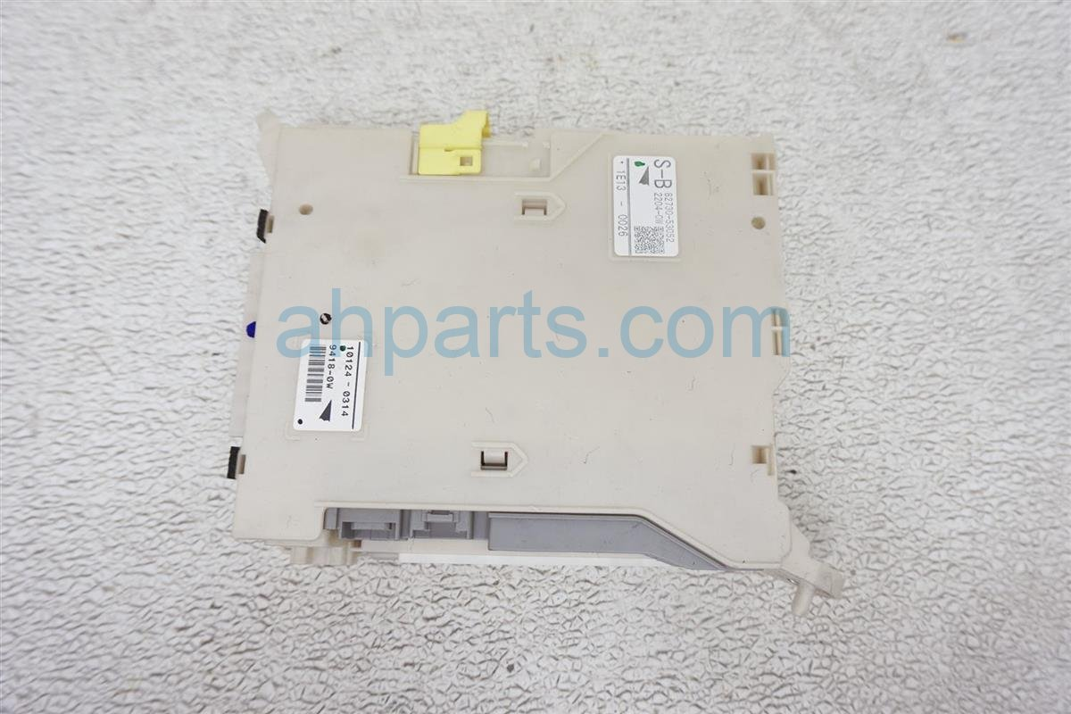 2011 Lexus Is 250 Driver Fuse Box Junction Block Assy 82730 53052 Replacement