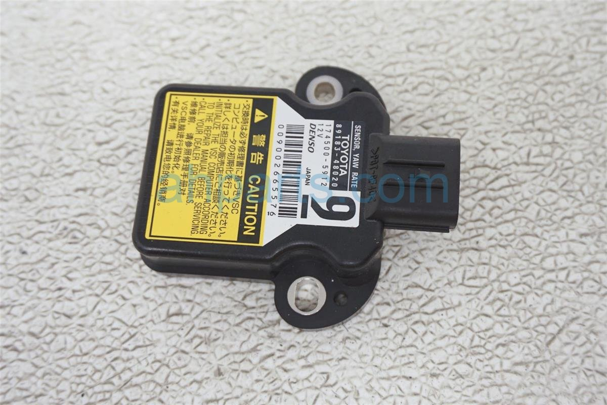 2011 Lexus Is 250 Yaw Rate Sensor 89183 48020 Replacement