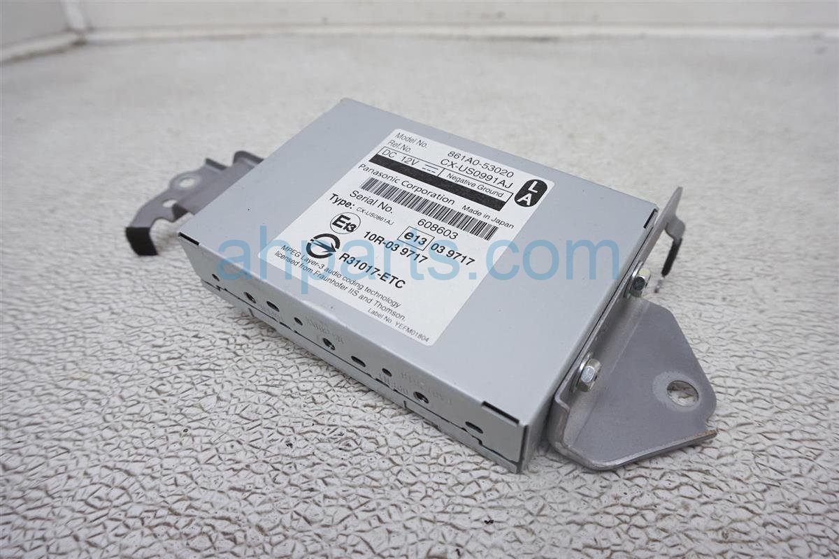 2011 Lexus Is 250 Multi Media Interface Module 861A0 53020 Replacement