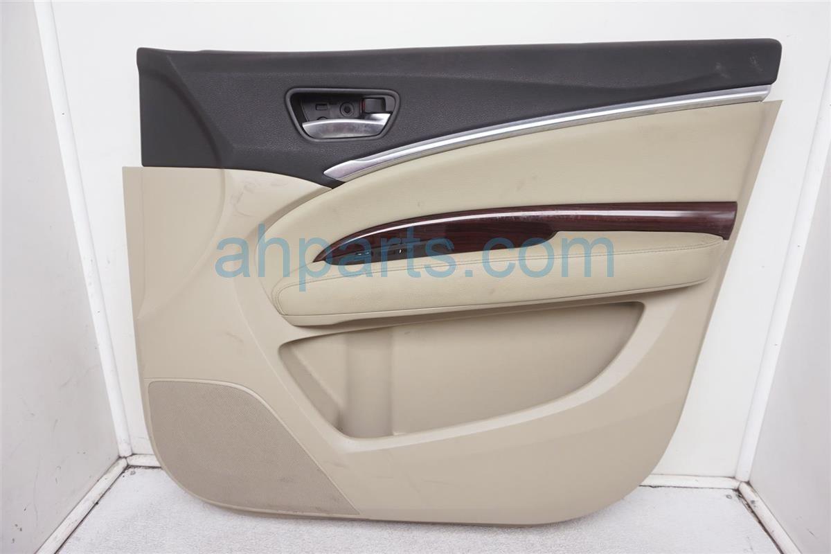 2014 Acura MDX Front Passenger Door Panel (trim Liner) Tan 83501 TZ5 A01ZA Replacement
