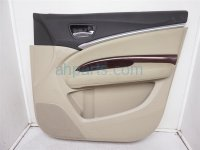 $150 Acura FR/R DOOR PANEL (TRIM LINER) TAN