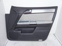 $100 Infiniti FR/R DOOR PANEL GRAY/BLACK