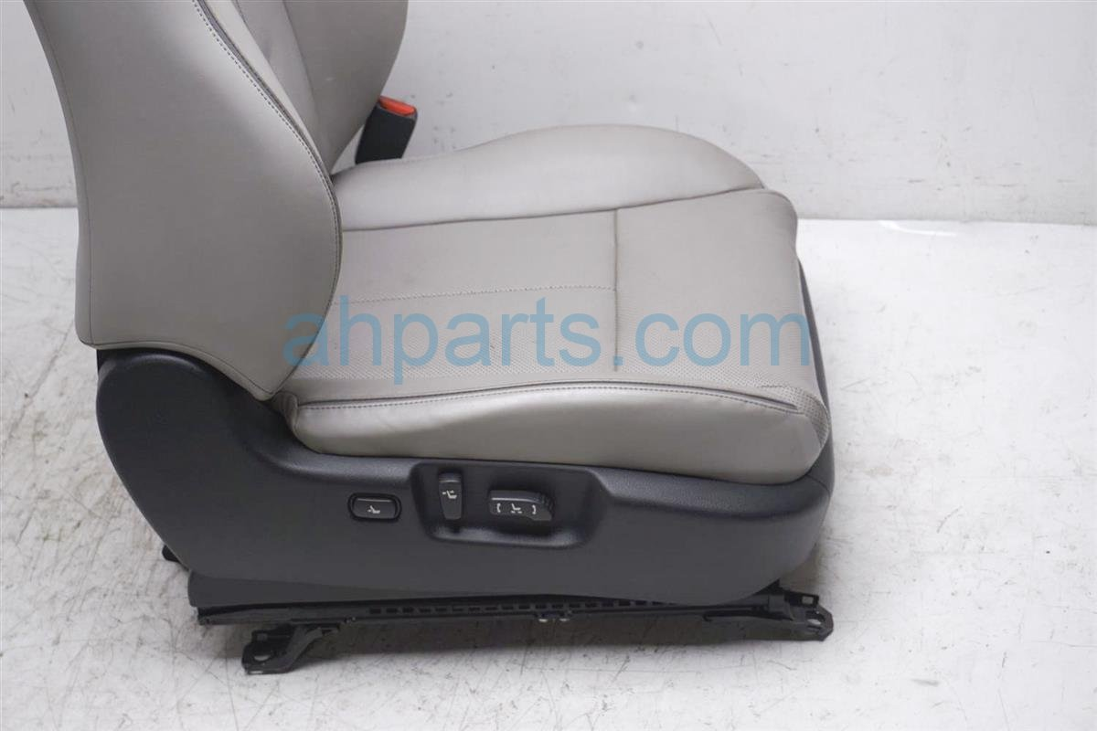 2007 Infiniti M45 Front Passenger Seat Gray Leather 87620 JK62C Replacement
