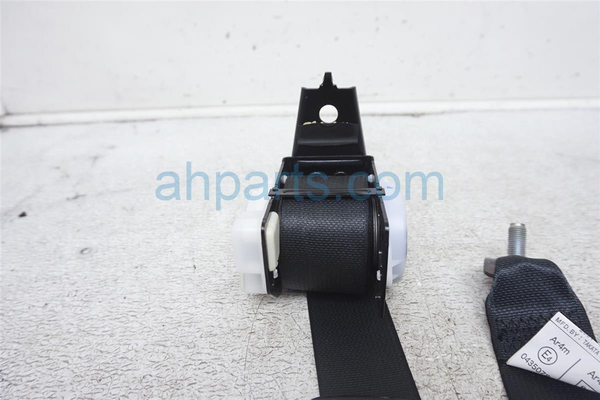 2007 Infiniti M45 Rear Driver Seat Belt Dark Gray 88844 EH10B Replacement