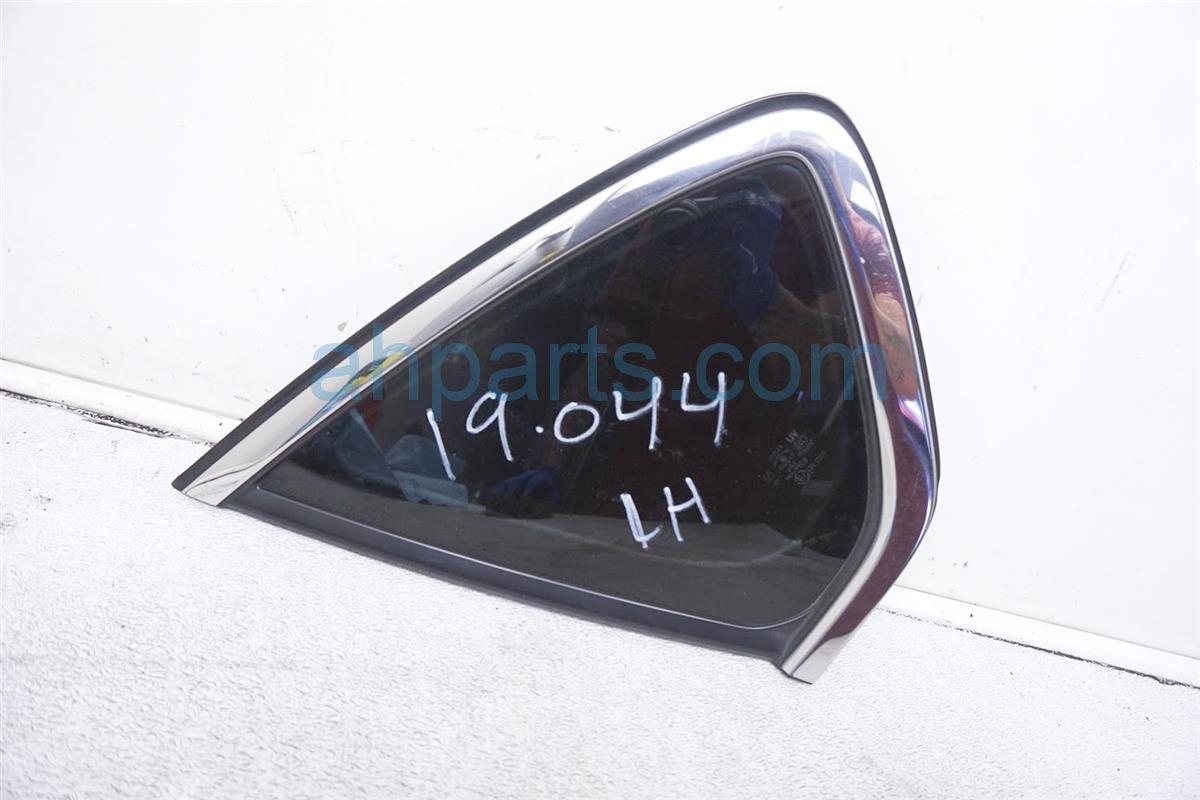2007 Infiniti M45 Passenger Quarter Window Glass 76830 EG000 Replacement