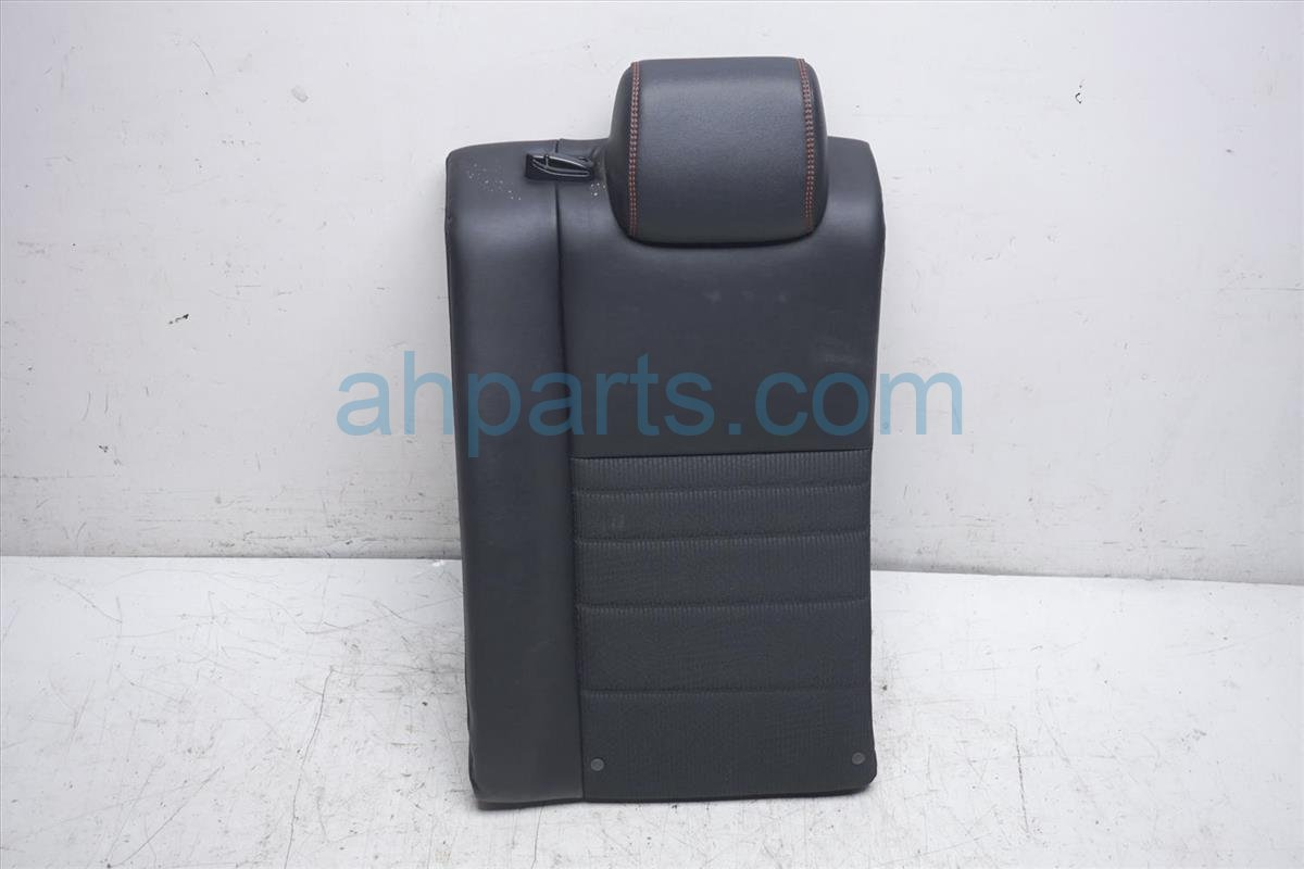 2016 Toyota Camry Back (2nd Row) Rear Driver Seat Upper Portion   Black Se 71078 06770 C2 Replacement