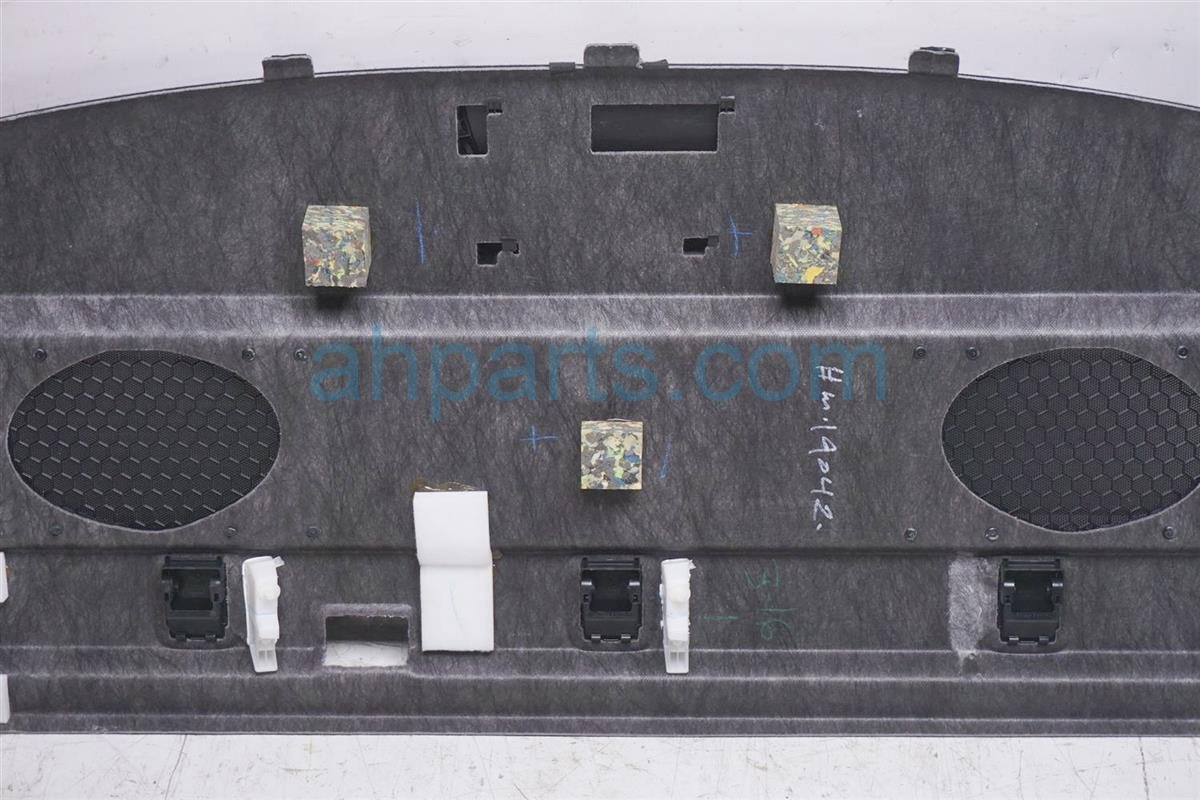 2016 Toyota Camry Rear Package Tray Liner   Black 64330 06650 C3 Replacement