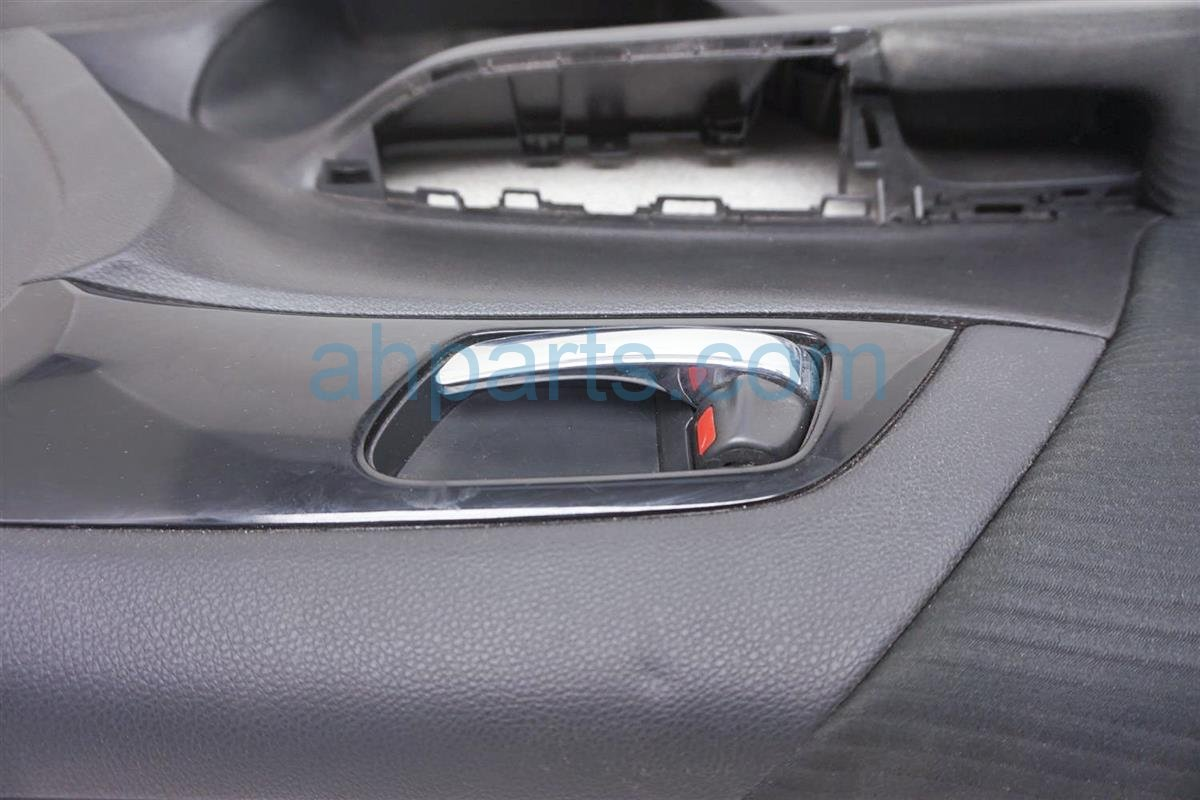 2016 Honda Accord Trim / Liner Front Driver Door Panel No Switch Black 83550 T2F A41M1ZA Replacement