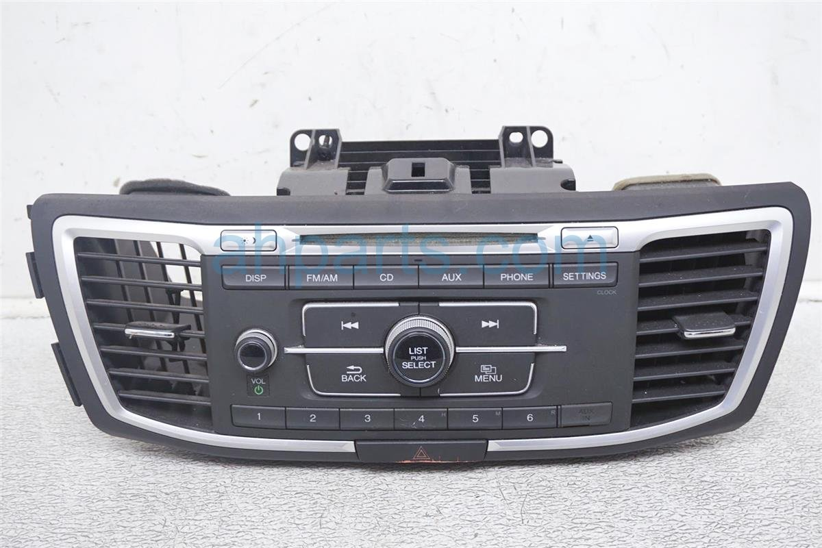 2016 Honda Accord Am/fm/cd Radio Buttons Has Scratches 39100 T2F A00 Replacement