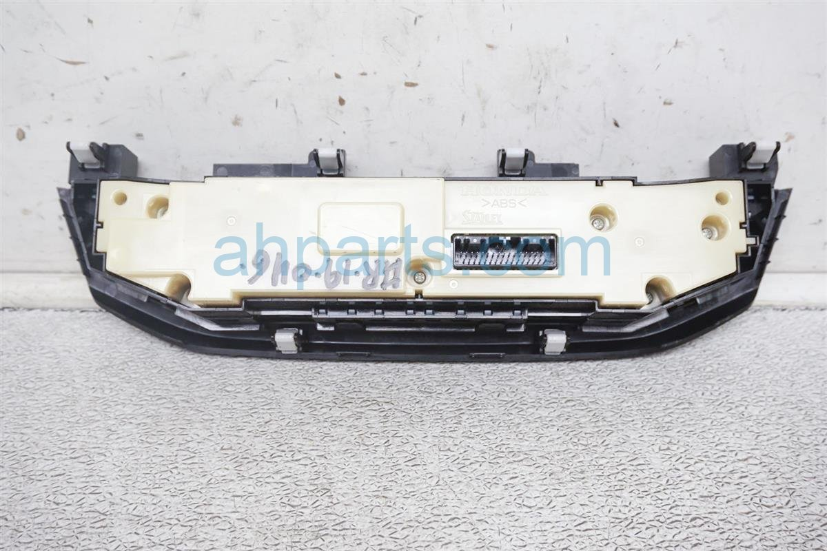 2016 Honda Accord Temperature Climate Heater/ac Control(on Dash) 79600 T2F A71ZA Replacement