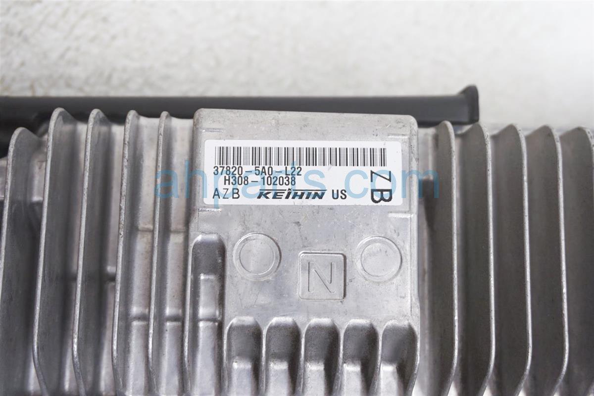 2016 Honda Accord Ecu Control Module / Engine Computer   At 37820 5A0 L22 Replacement