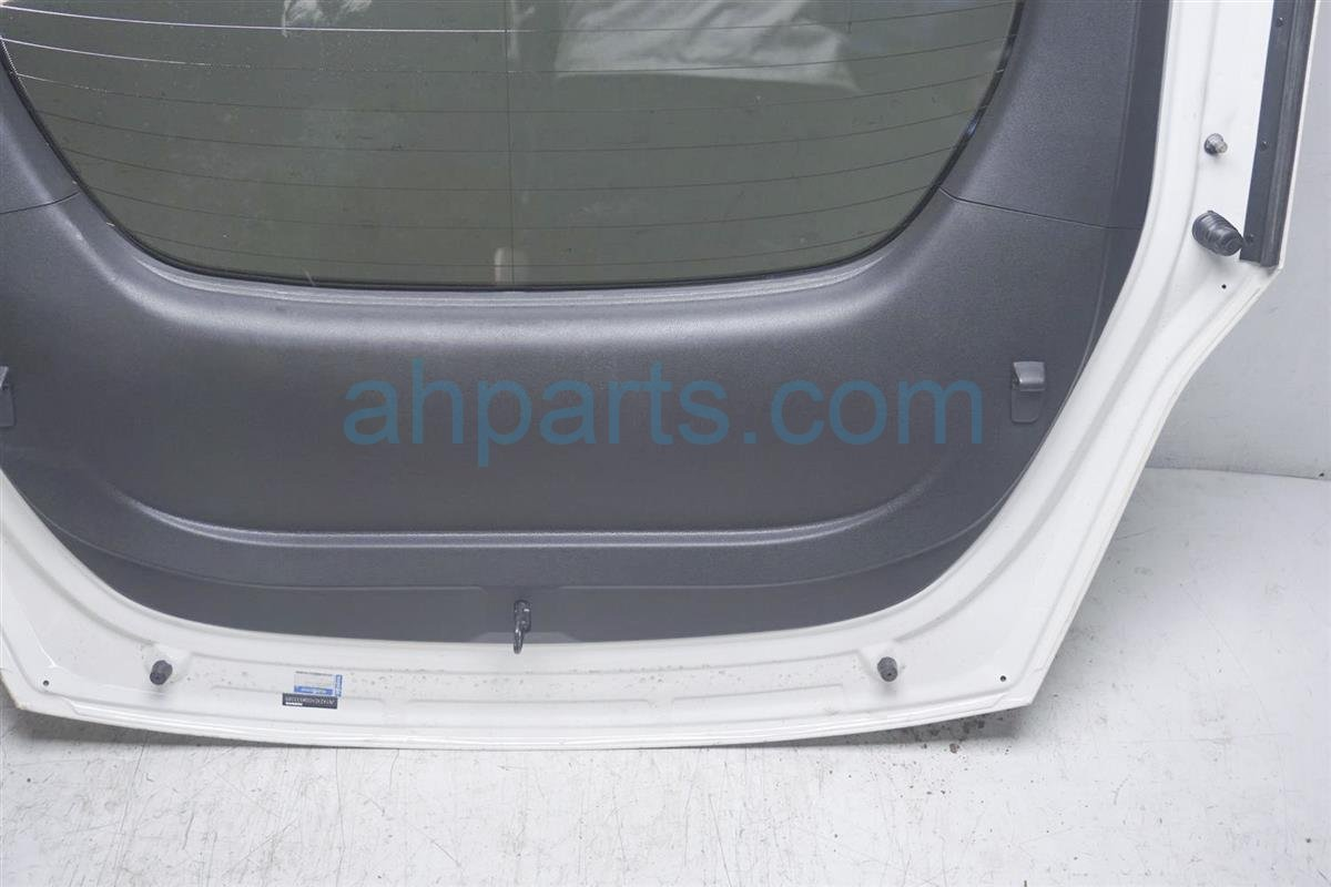 2016 Nissan 370z Deck Lid/rear Trunk White KMA0M 1EAMA Replacement