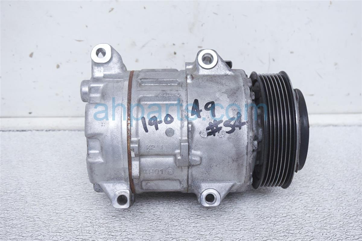 2013 Lexus Gs350 Air Pump + Clutch Ac Compressor 88320 3A460 Replacement