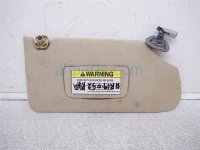 $25 Acura RH SUN VISOR TAN SAGS WHEN MOUNTED