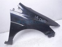 $125 Honda RH FENDER BLACK - BEND AT THE FRONT