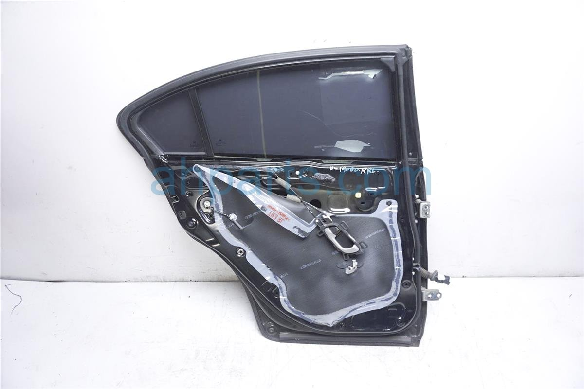 2013 Honda Civic Rear Driver Door   Black Replacement