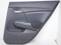 $60 Honda RR/R DOOR PANEL - BLACK