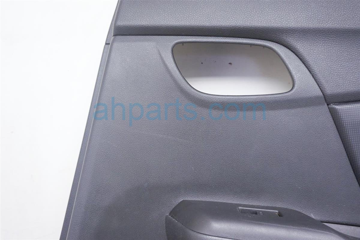 2013 Honda Civic Trim / Liner Rear Passenger Door Panel   Black 83700 TR3 A21ZE Replacement