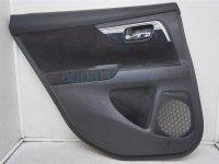 Nissan RR/LH DOOR PANEL TRIM LINER - BLACK