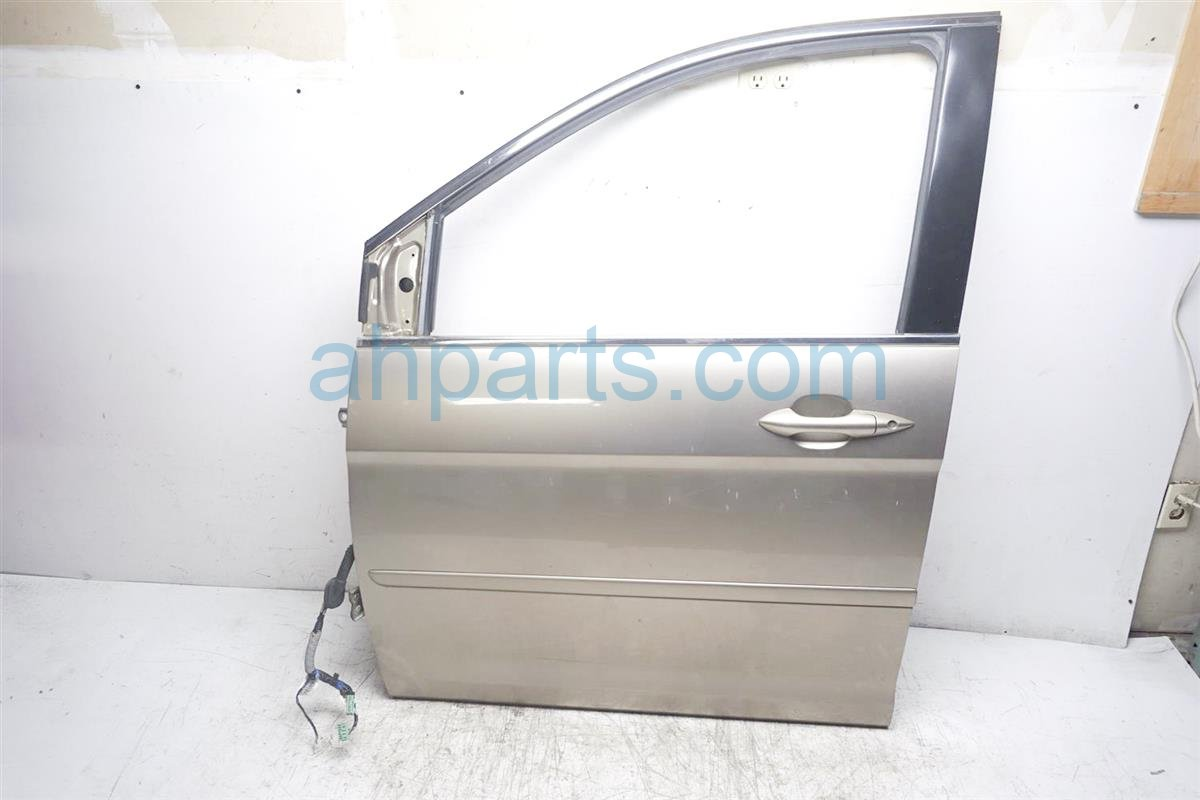 2007 Honda Odyssey Front Driver Door Shell Gold 67050 SHJ A90ZZ Replacement