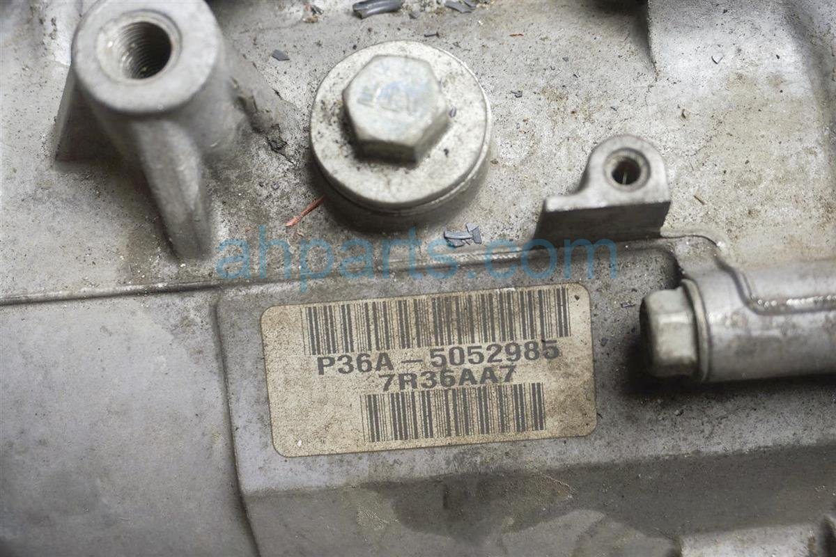 2007 Honda Odyssey At Transmission   Miles= 125k 20021 R36 000 Replacement