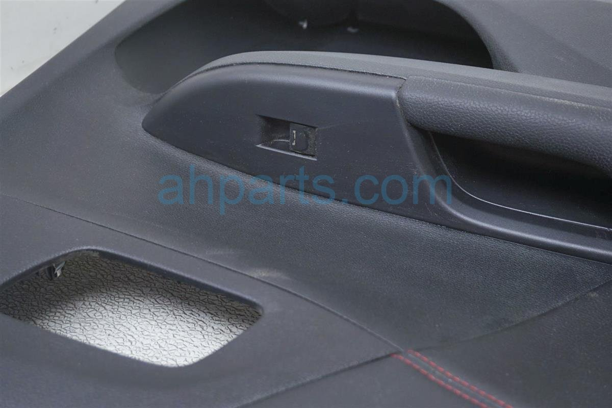 2017 Honda Accord Trim / Liner Rear Driver Inside Door Panel   Black   Se 83750 T2F A61ZF Replacement