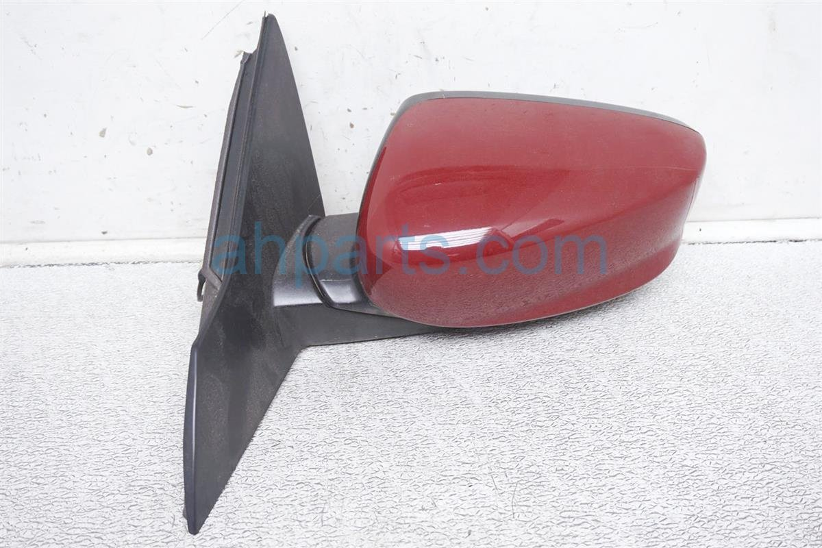 2017 Honda Accord Driver Side Rear View Mirror   Red 76250 T2F A31ZC Replacement
