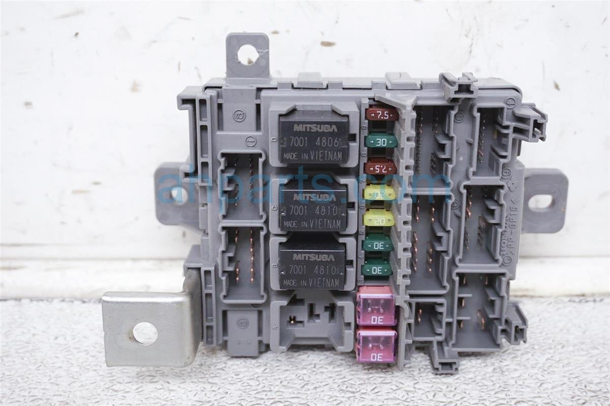 2005 Acura RL Cabin Fuse Box Replacement on