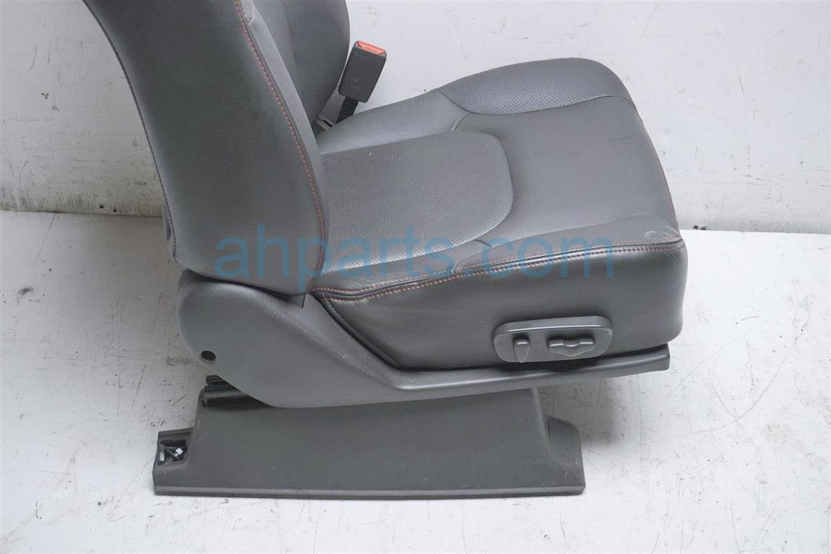 2011 Nissan Frontier Front Passenger Seat Gray Power 87600 ZL63C Replacement