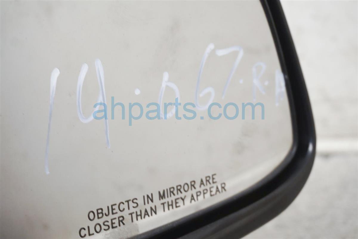 2003 Nissan Xterra Passenger Side Rear View Mirror Black 96301 3S500 Replacement