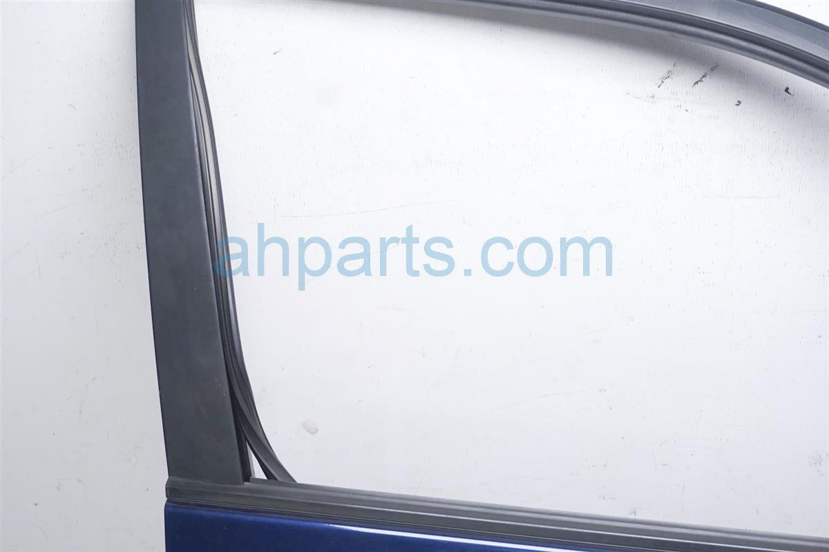 2001 Lexus Rx300 Front Passenger Door   Shell Blue Has 4 Dings Replacement