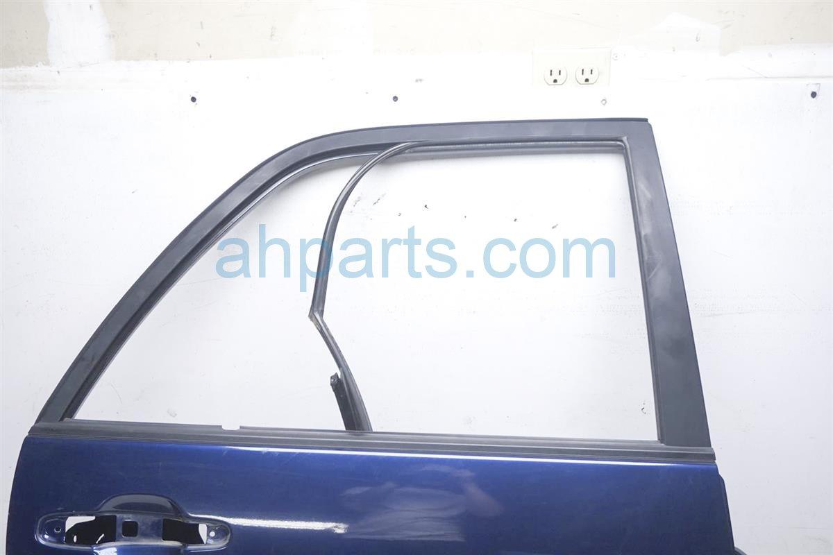2001 Lexus Rx300 Rear Passenger Door   Shell Blue Has 3 Dings 67003 48022 Replacement