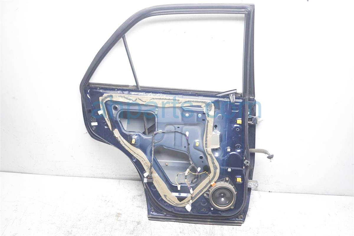 2001 Lexus Rx300 Rear Driver Door   Shell Blue Has 2 Dings 67004 48022 Replacement
