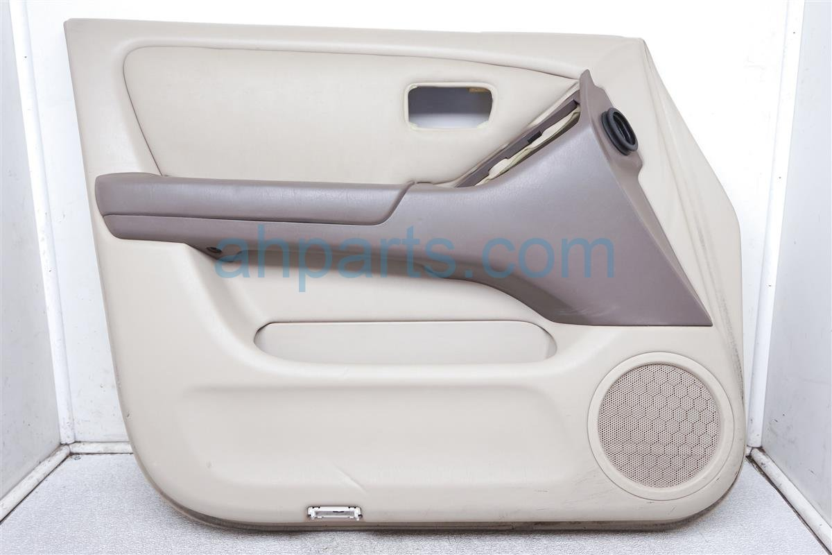 2001 Lexus Rx300 Trim / Liner Front Driver Door Panel No Switch Tan ( 67620 48080 A0 Replacement