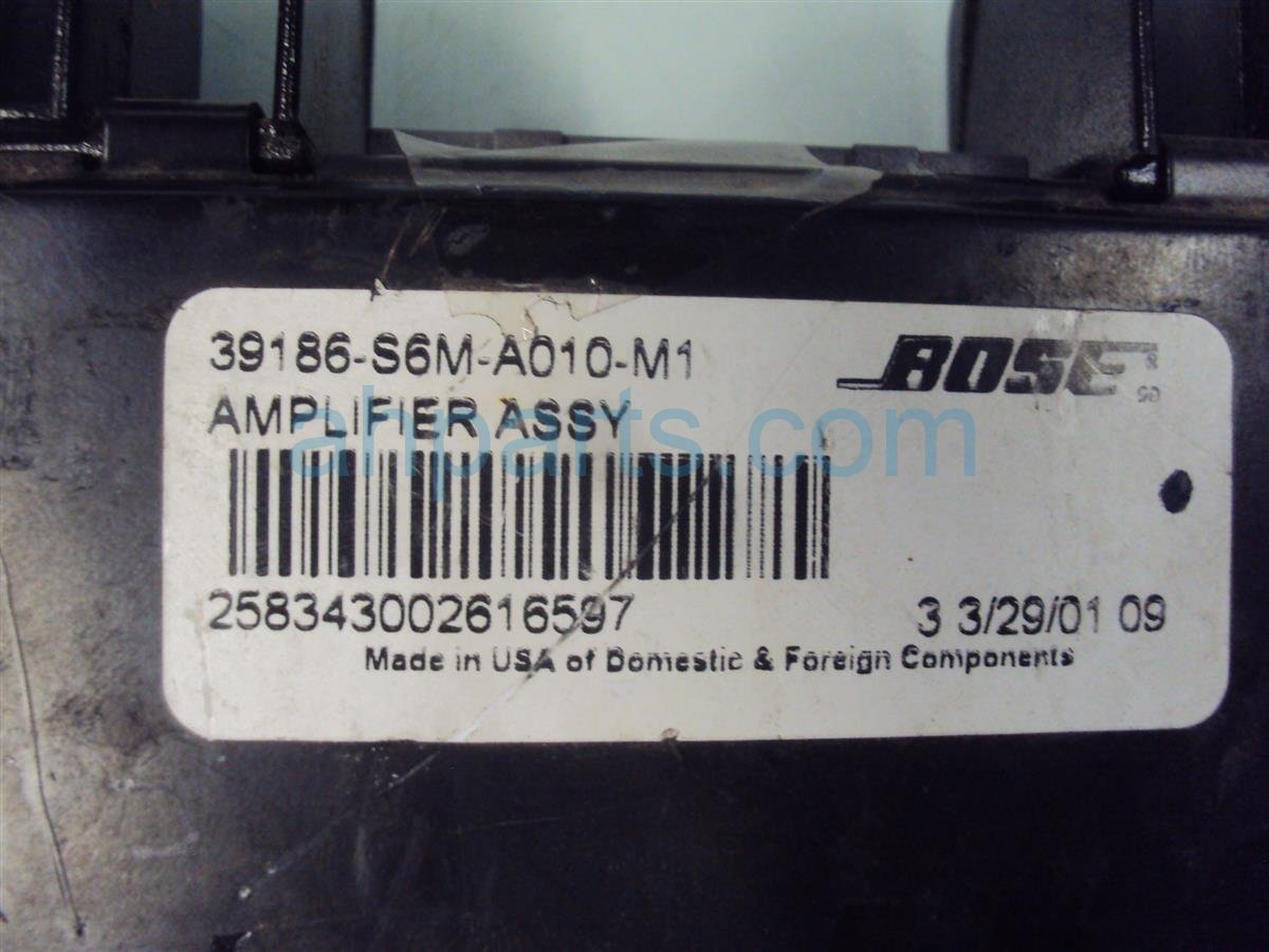 2002 Acura RSX BOSE AMPLIFER 39186 S6M A01 39186S6MA01 Replacement