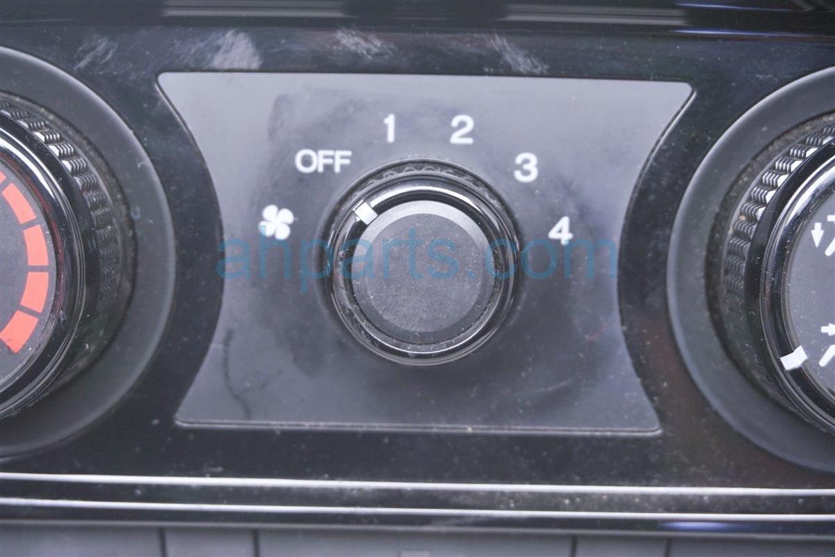 2016 Honda HR V Temperature Climate Heater/ac Control(on Dash) 79550 T7J H01ZA Replacement