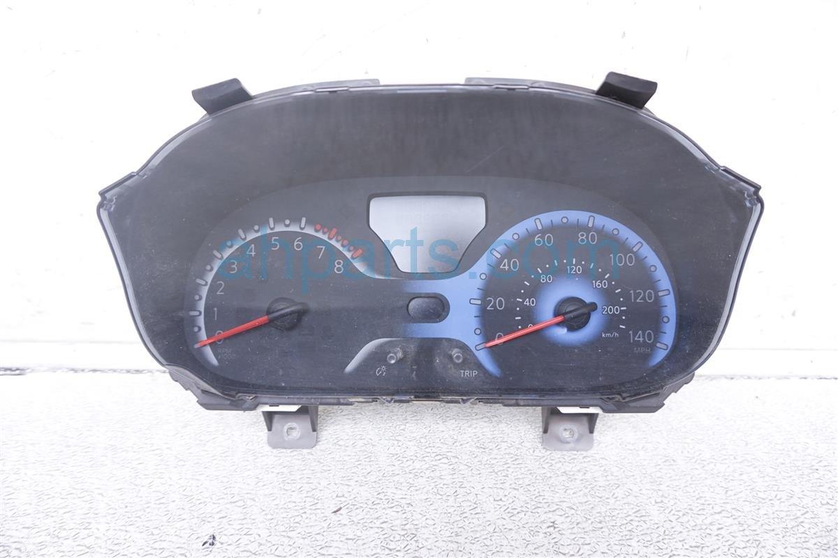 2010 Nissan Cube Instrument Gauge Cluster Speedometer 24820