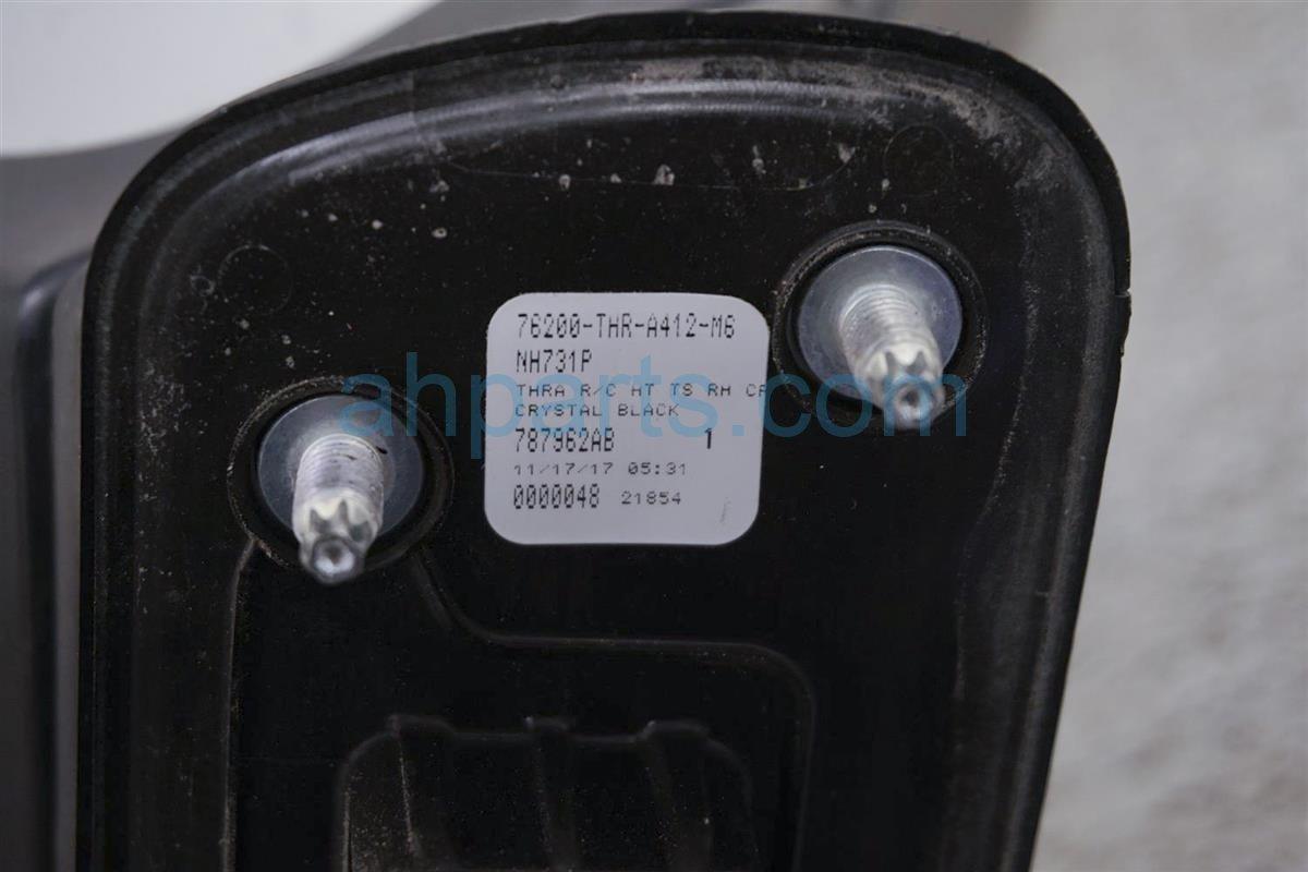 2018 Honda Odyssey Side Passenger Rear View Mirror   Black   Ex   76200 THR A41ZE Replacement